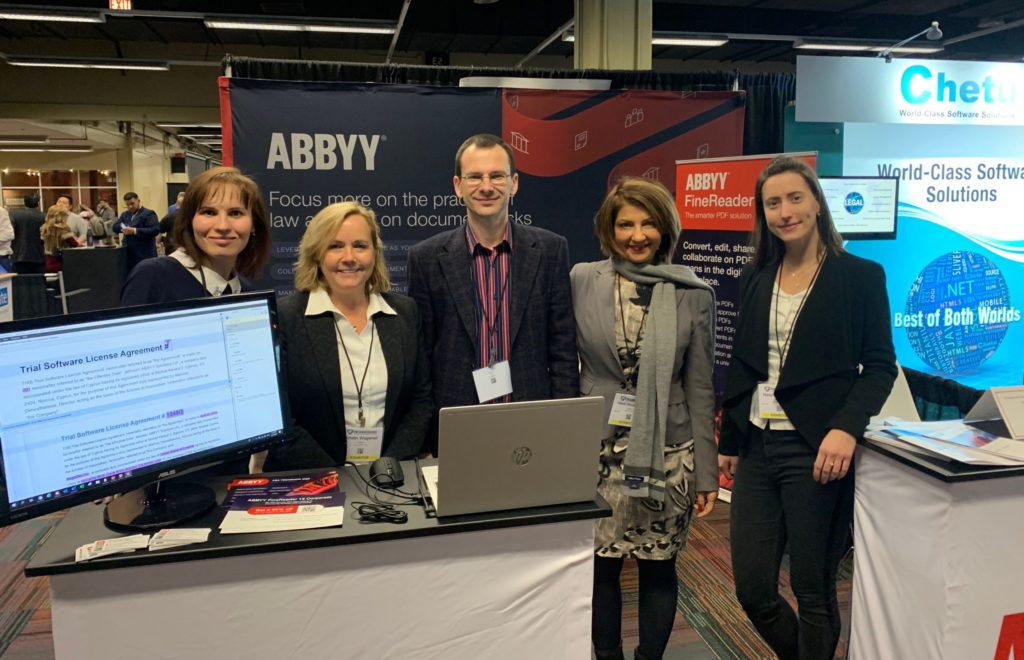 ABBYY Team at the booth